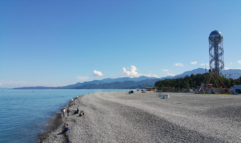 Plaża przy molo