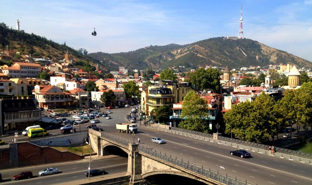 Starówka Tbilisi