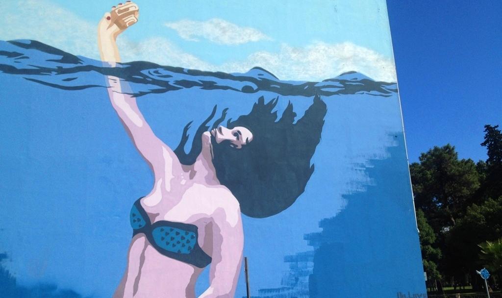 Mural w Batumi